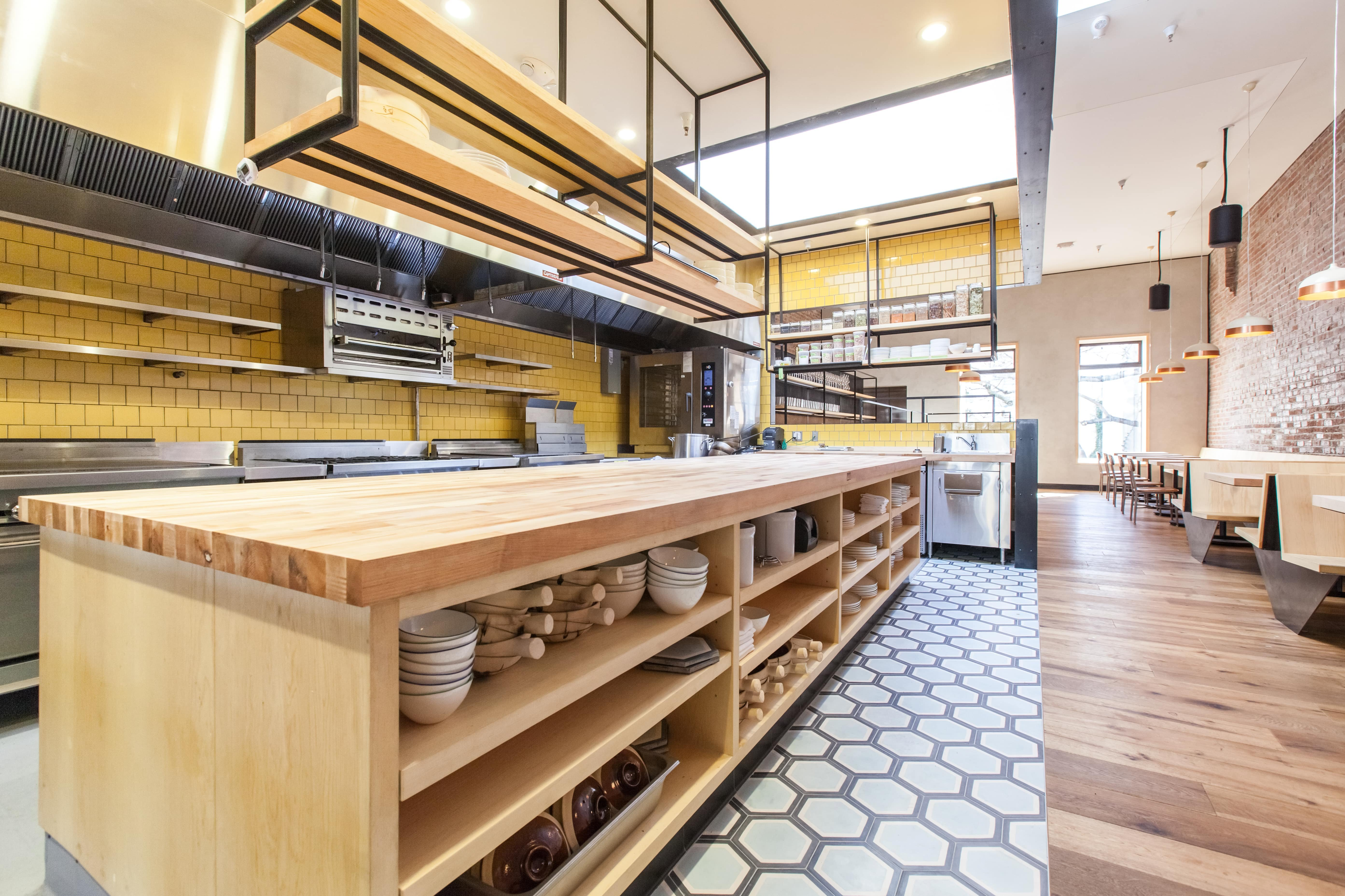 Liholiho Yacht Club Kitchen