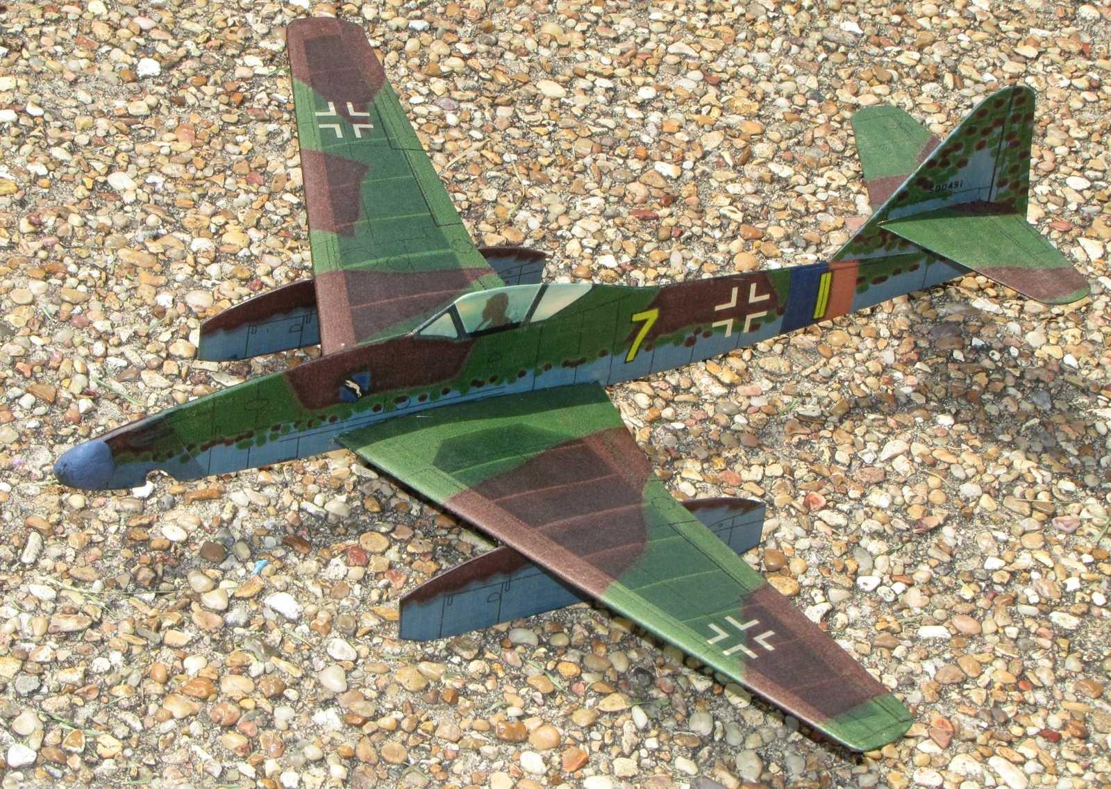 Me 262 FAC Jet Cat model