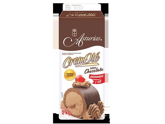 494  |  CremOlé Chocolate Caja de 8 kg (4 Pure-Pak de 2 kg)