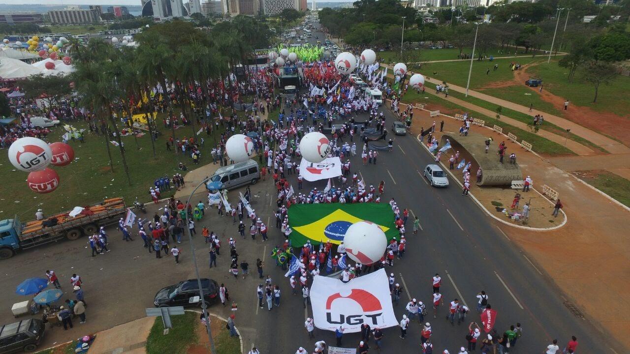 Ação em Brasília Maio 2017