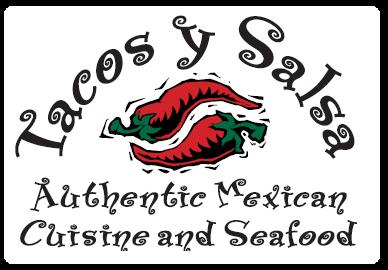 tacos y salsa