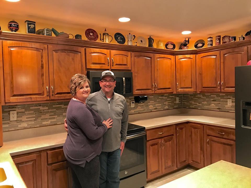 Blake Kitchen Remodel and Backsplash 1