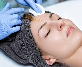 Plasma Injection Into Skin