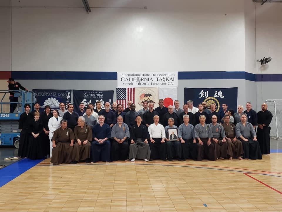 Pre-taikai training group photo.