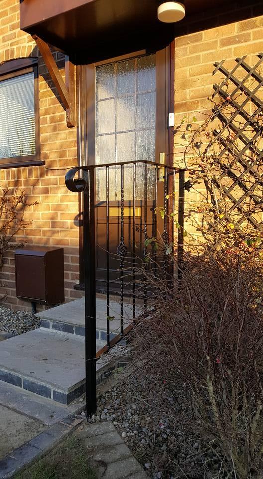 Step handrail