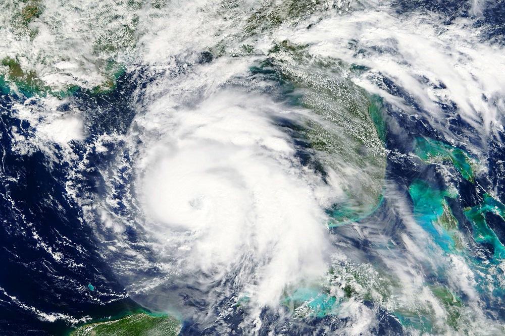 Hurricane on Doppler radar
