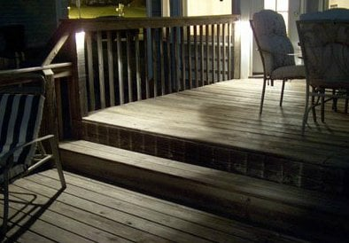 Lighted Residential Deck||||