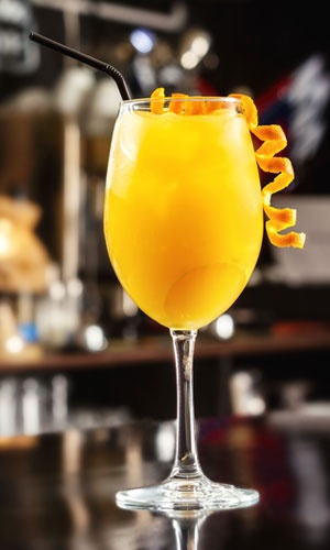 Orange Screwdriver Cocktail