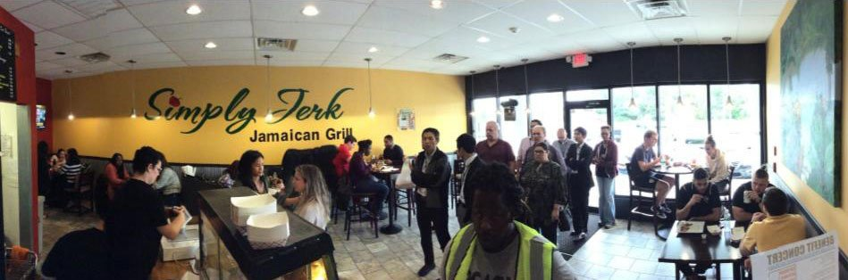 Interior of Our Jamaican Grill