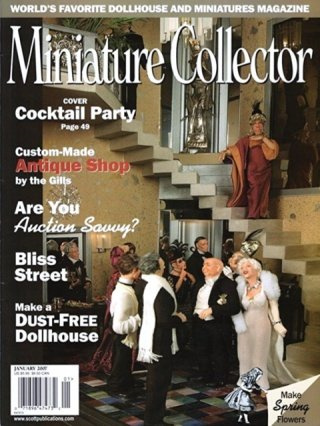 Miniature Collector Magazine January 2007