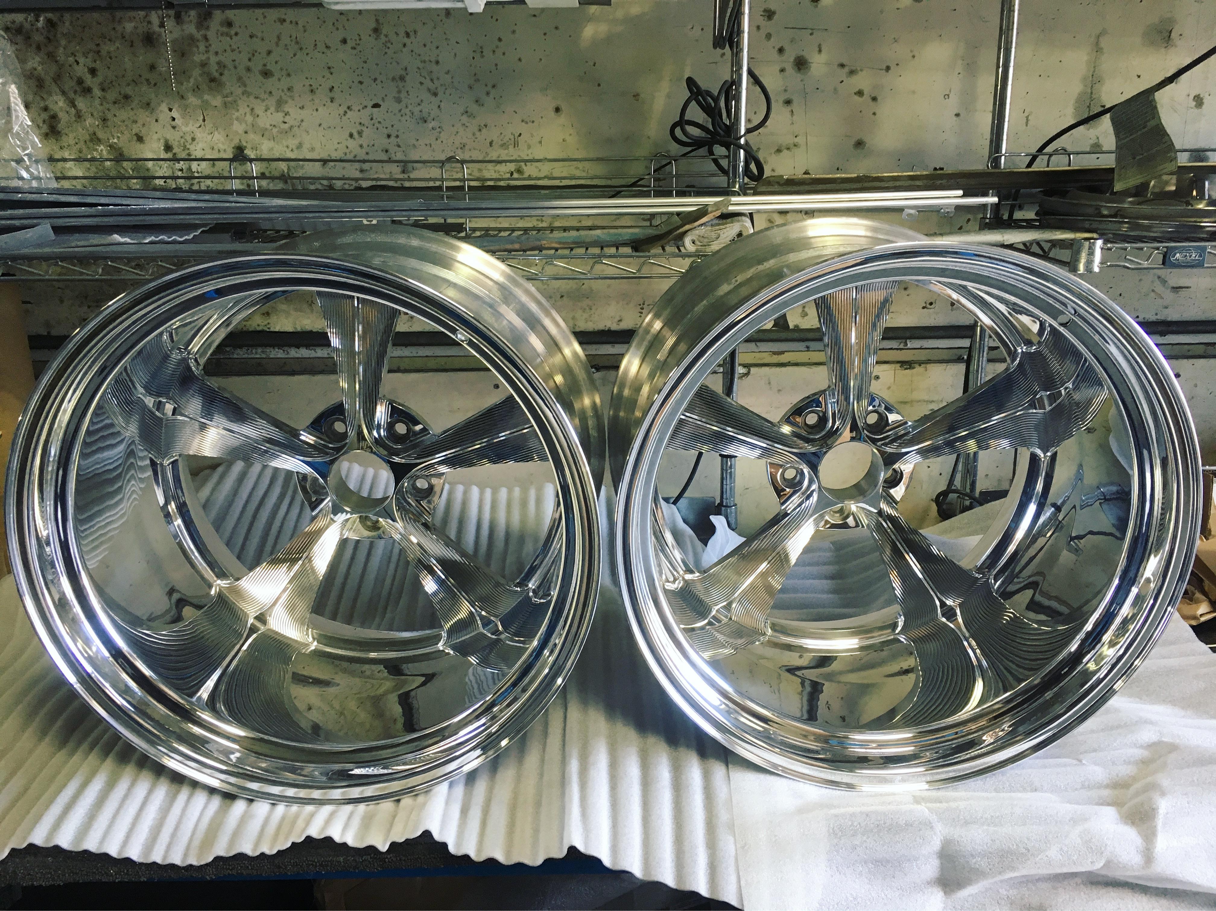 Polish Wheels 10 Inch Lip