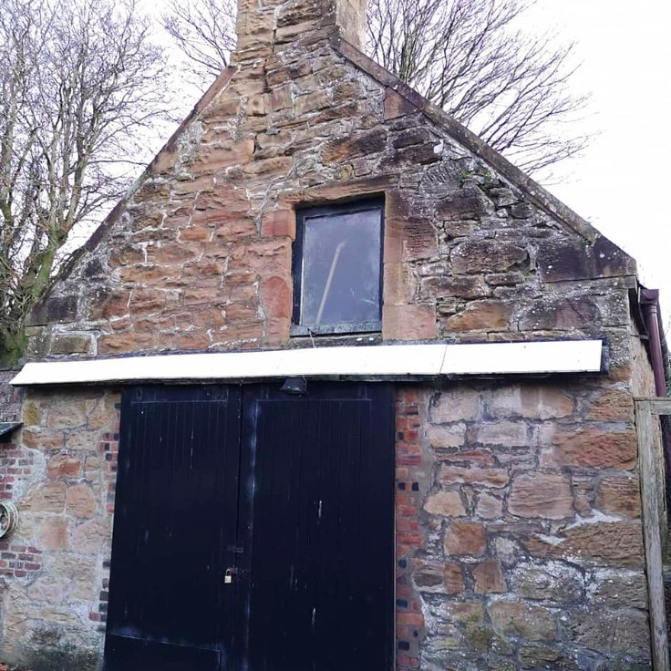 Disused Victorian Coach House Outbuilding