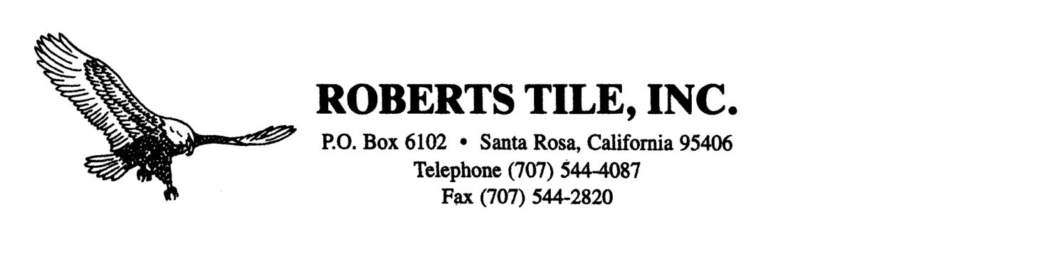 Roberts Tile Inc.