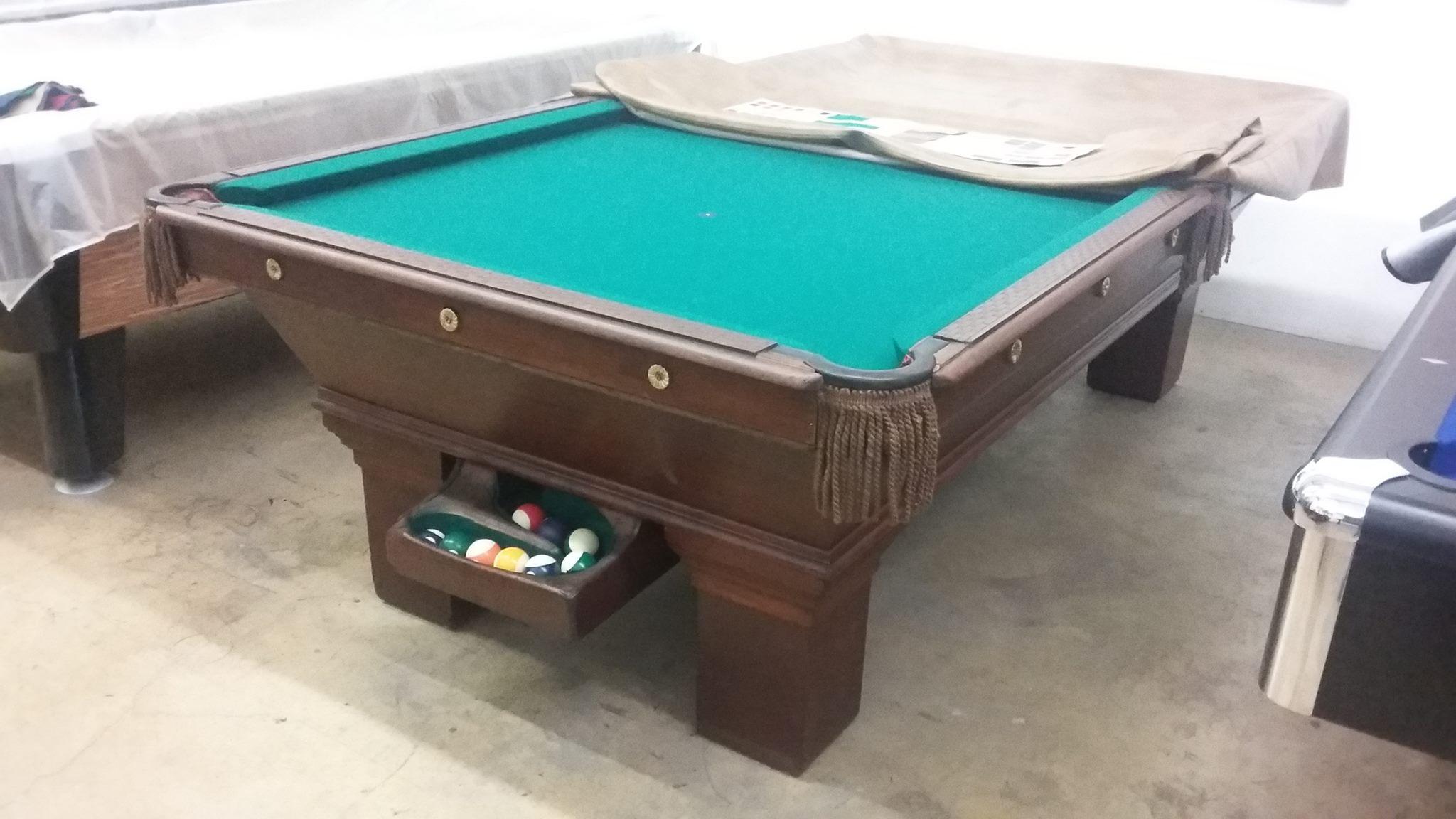 SOMAR BILLIARDS Used Pool Tables - Boessling pool table