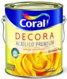 Decora Acrílico Fosco Coral Tinta Acrílica Fosca Premium