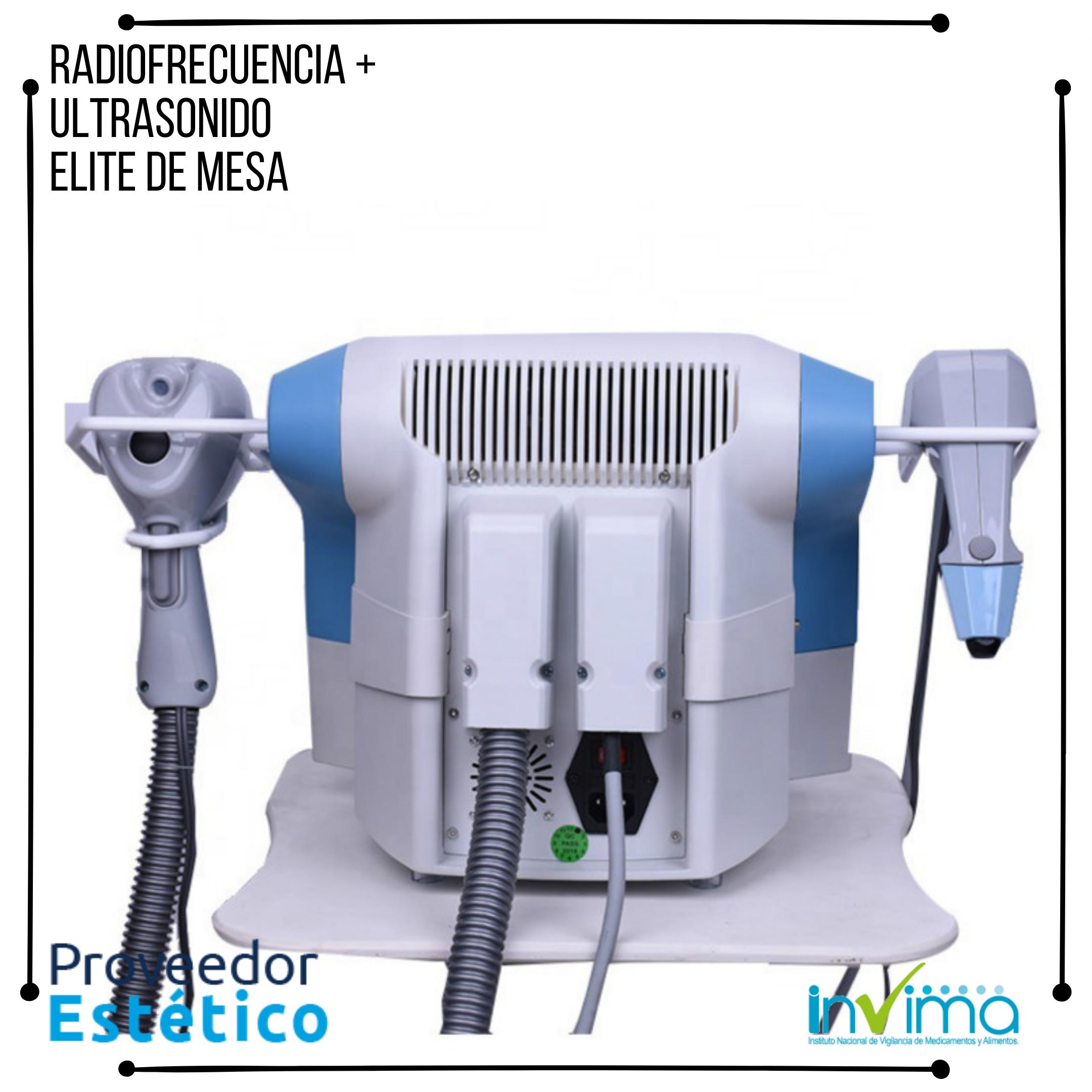Radiofrecuencia Ultrasonica Elite de MesaRadiofrecuencia Ultrasonica Elite de Mesa