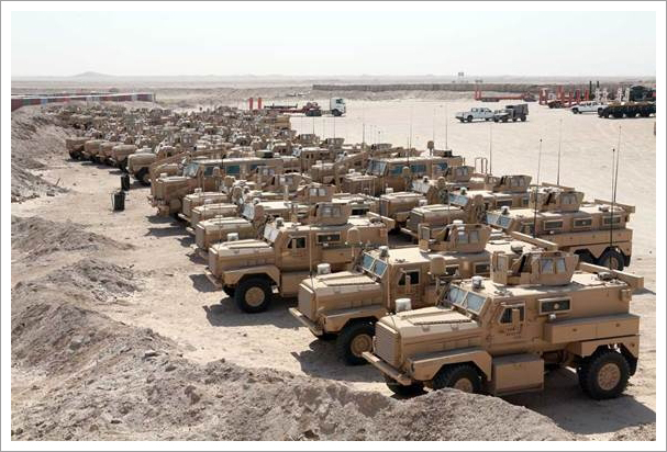 Image of military trucks||||