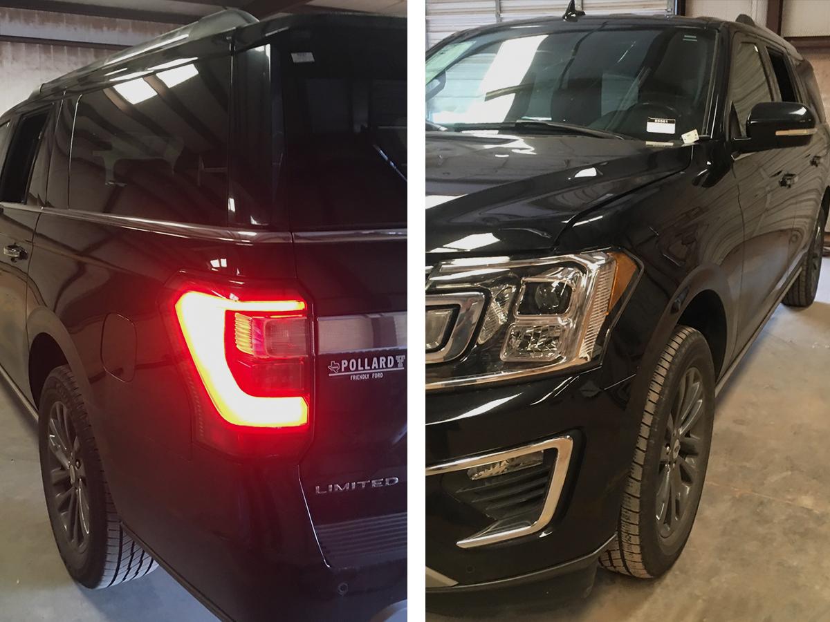Black SUV Front 2 & 3