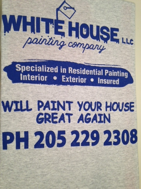 White House LLC Shirt Print