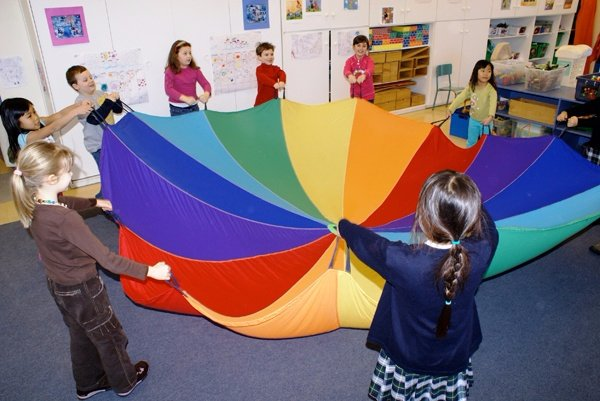 Jeux de parachute