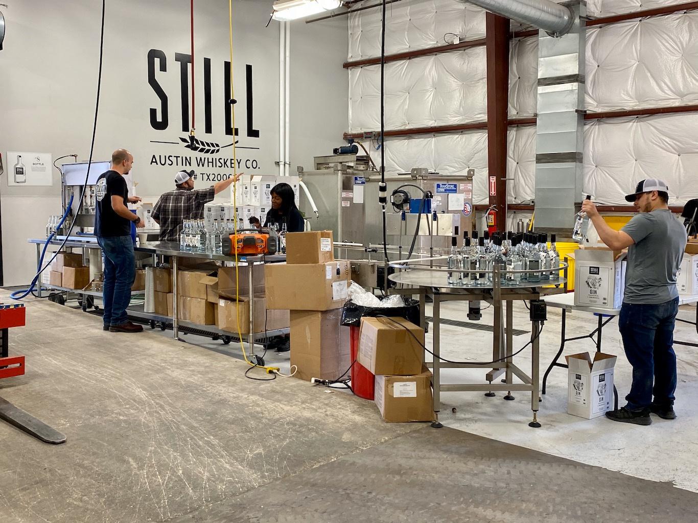Bottling Line -Still Austin Whiskey Co
