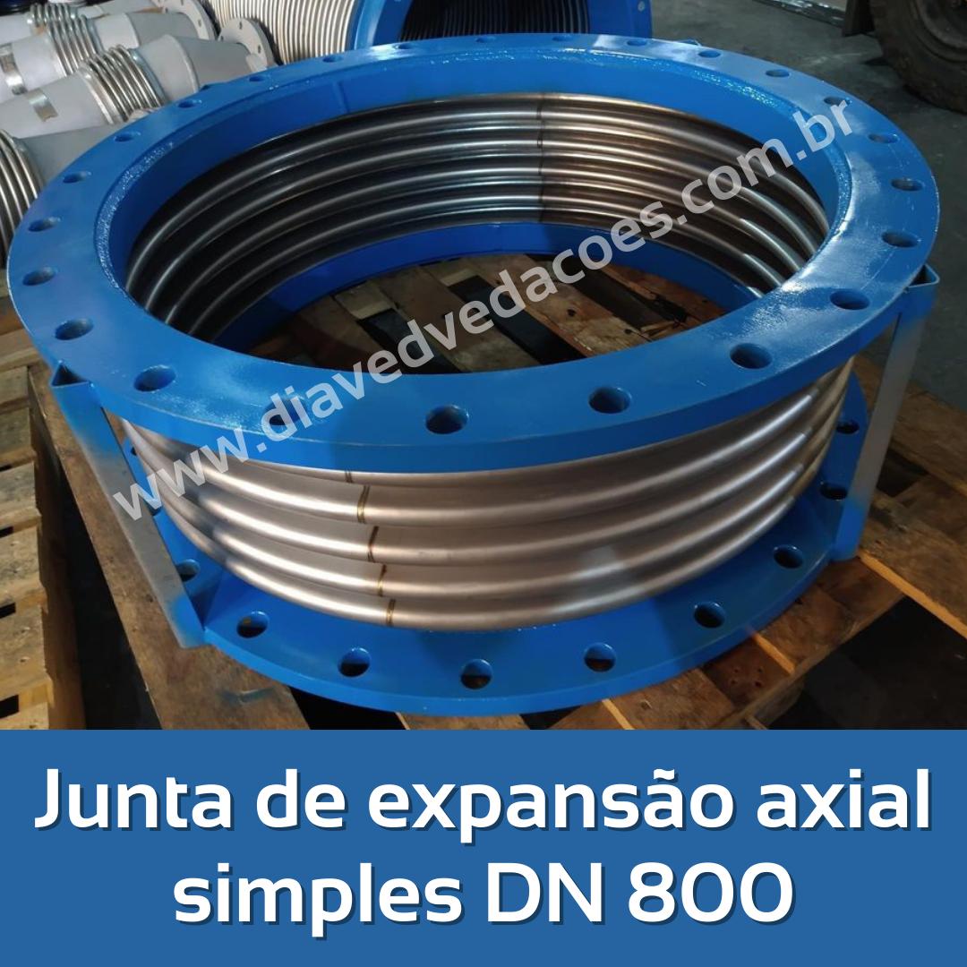 Junta de expansão axial simples DN 800