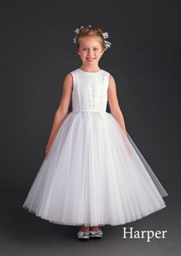 harper flower girl dress
