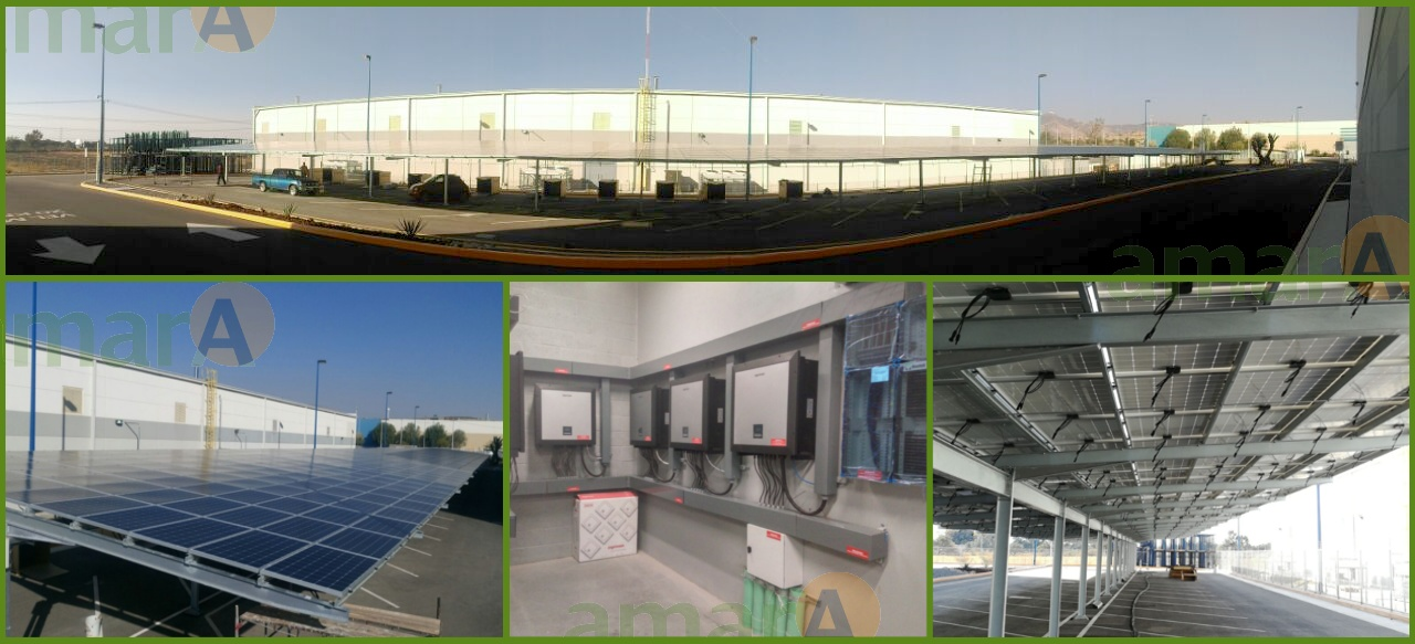 Amara PV plant Mexico