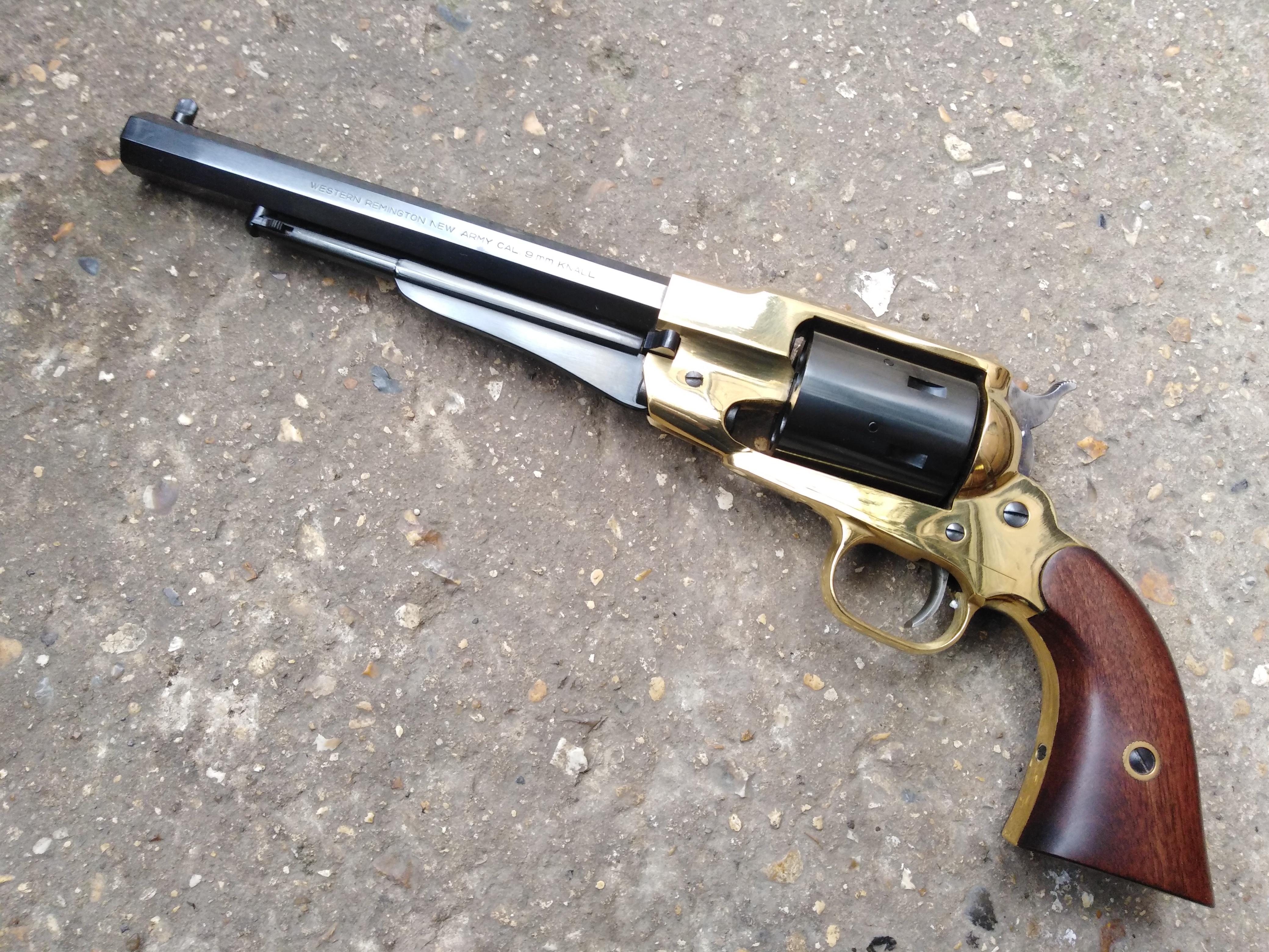 Pietta Remington 1858 Brass Frame