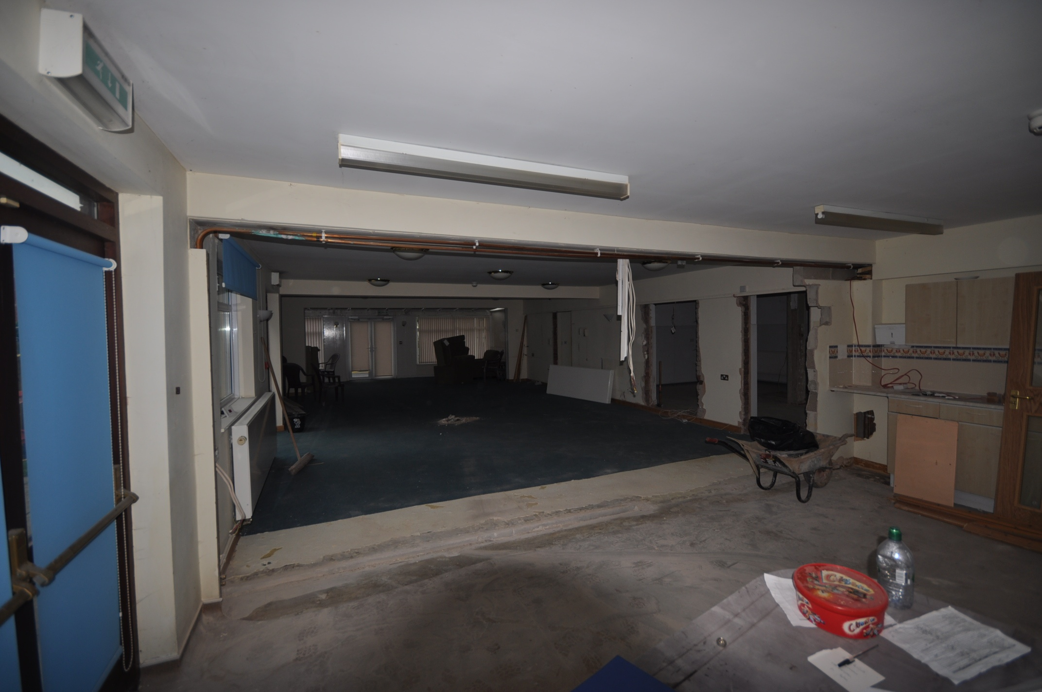 Internal demolition and Refurb