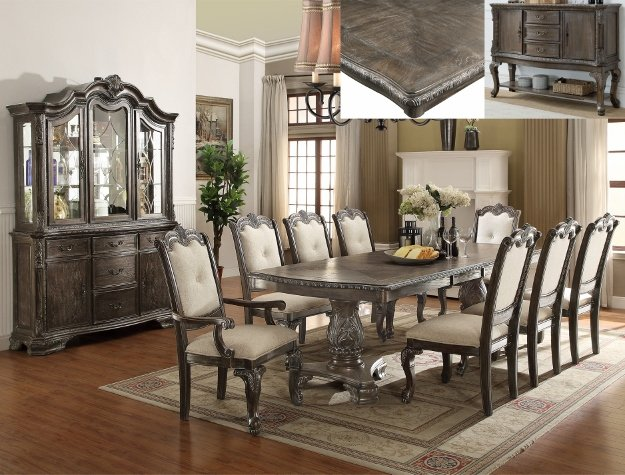 Kiera Grey Dining Room Suite C/M 2151