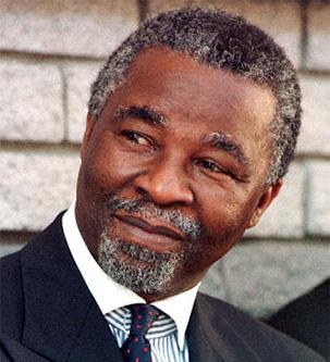 Thabo Mbeki, Client