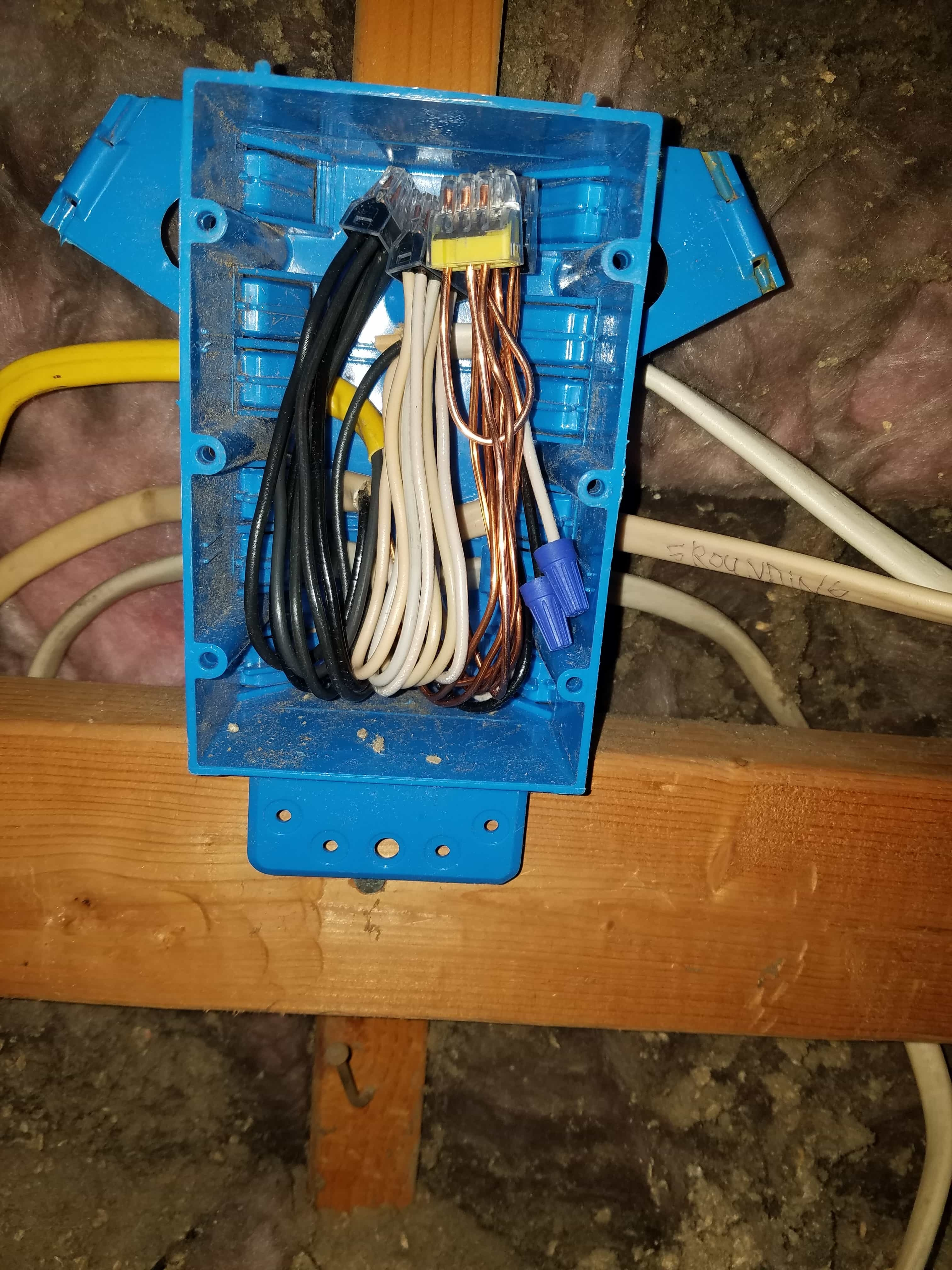 Repaired Electrical Wiring