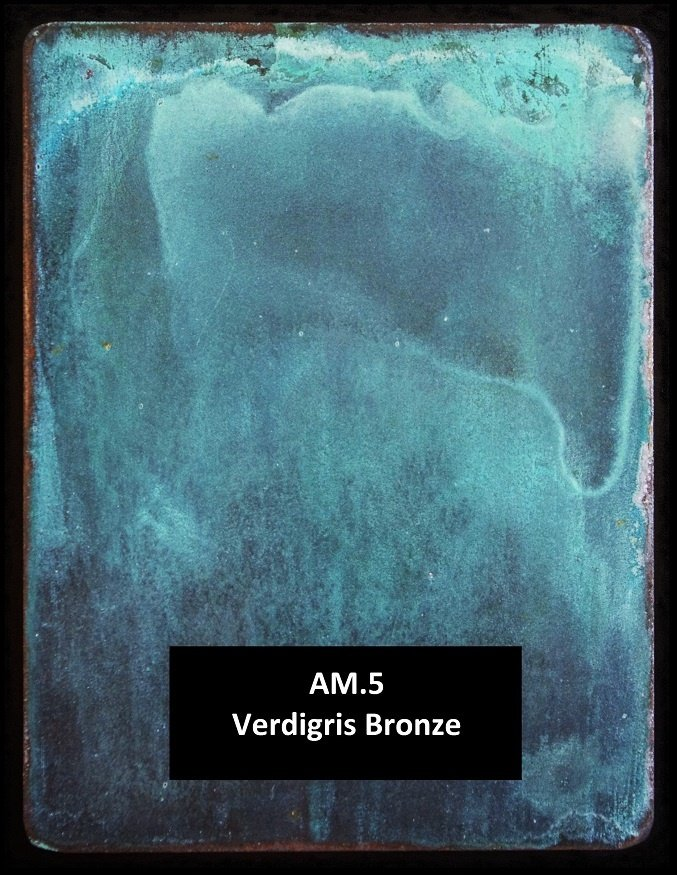 Verdigris Finish AM.5 by Artistic Metals