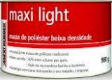 MASSA LIGHT DE POLIÉSTER  BAIXA DENSIDADE