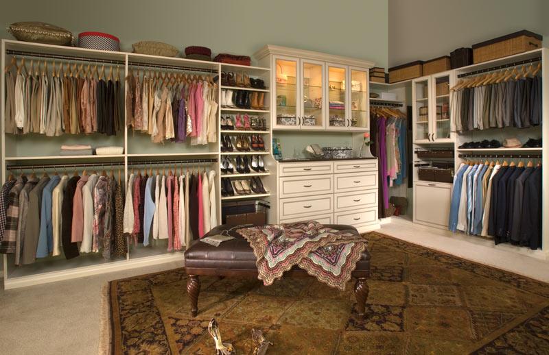 walk in closet design Alpharetta