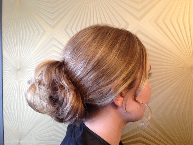 Updo With Loose Curls 4