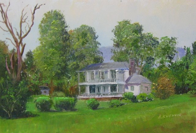 57. 19th Century House, W Frontage Rd, 6x8 op