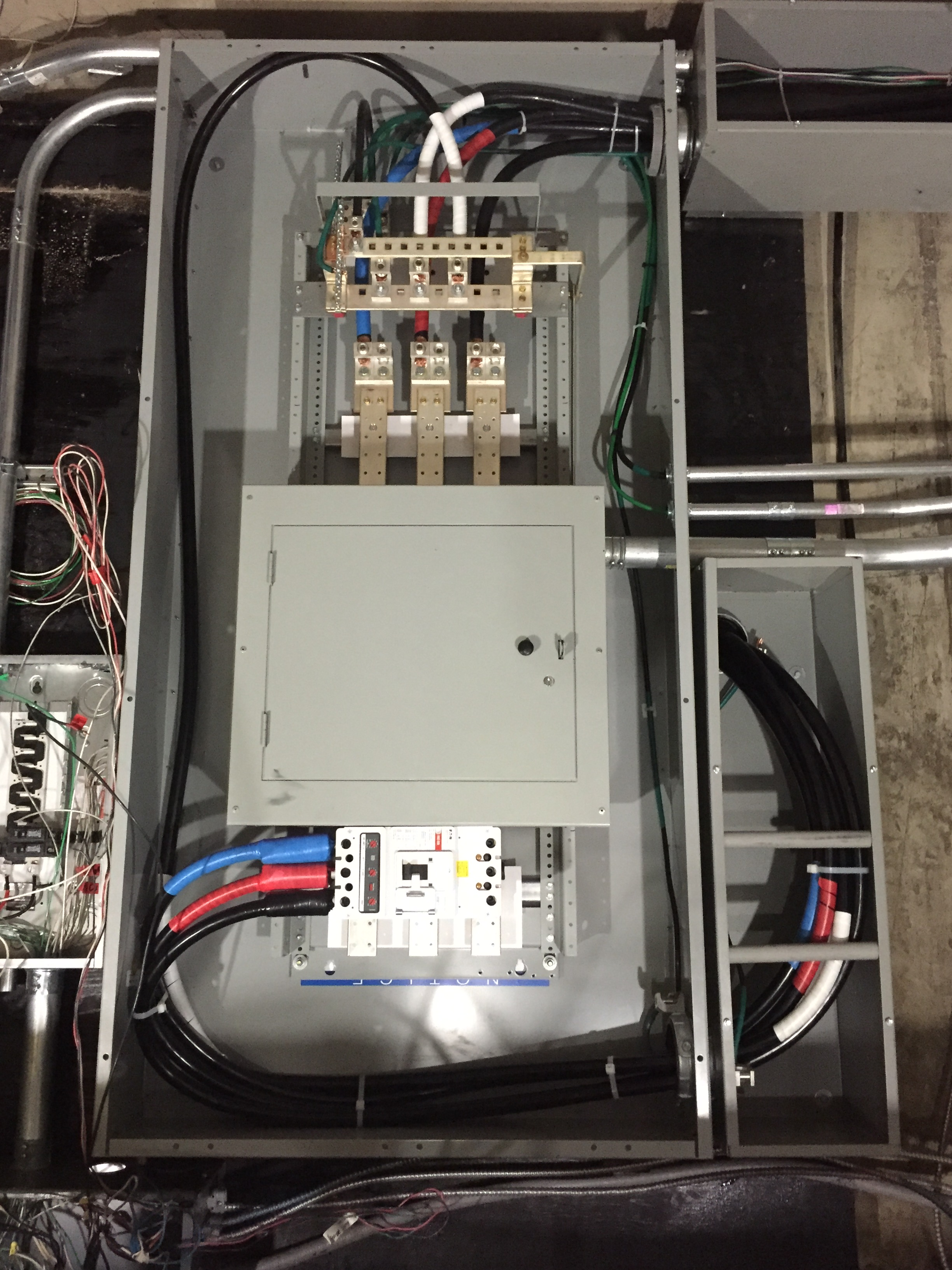 600 Amp Electrical Wiring