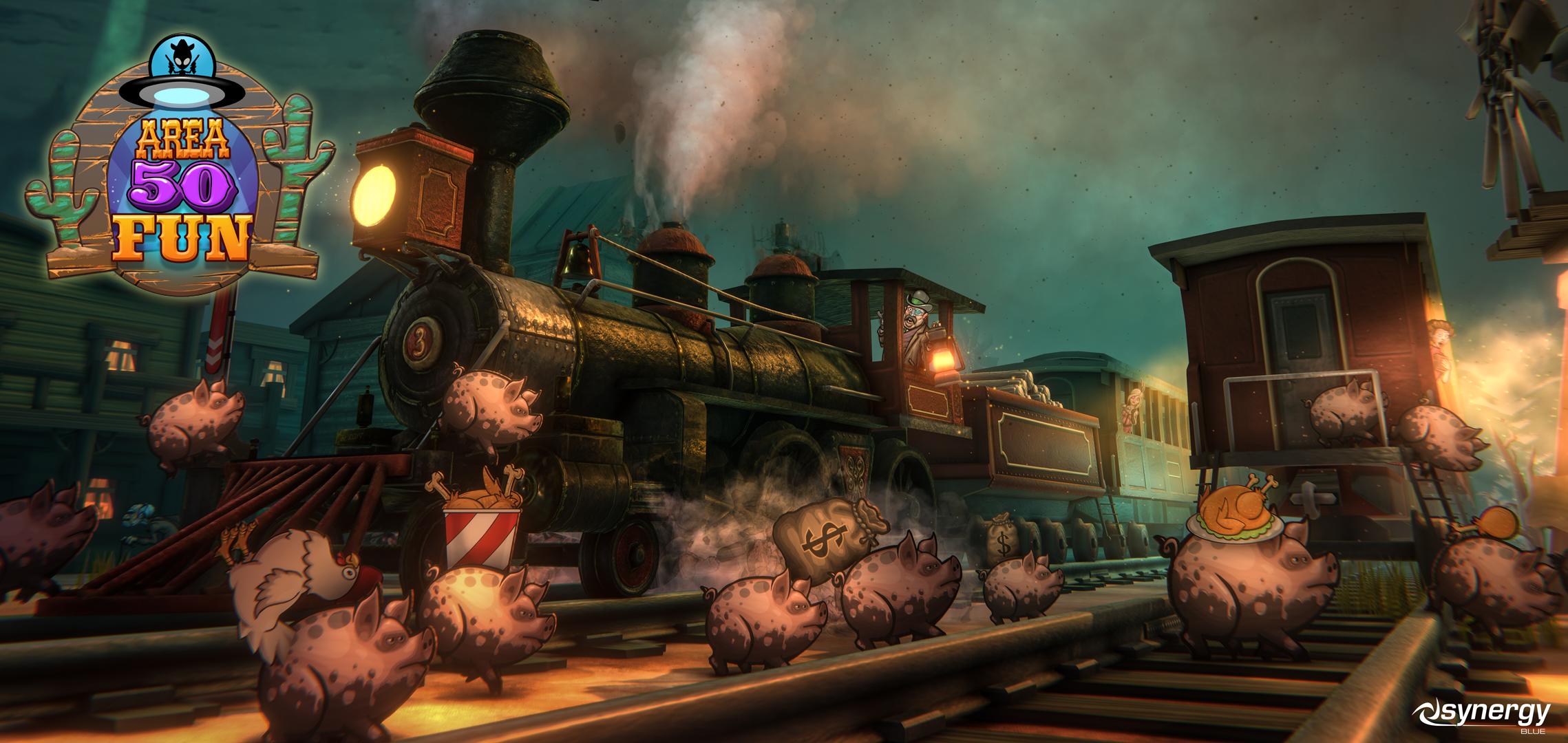 Area 50 Fun Railroad Scene