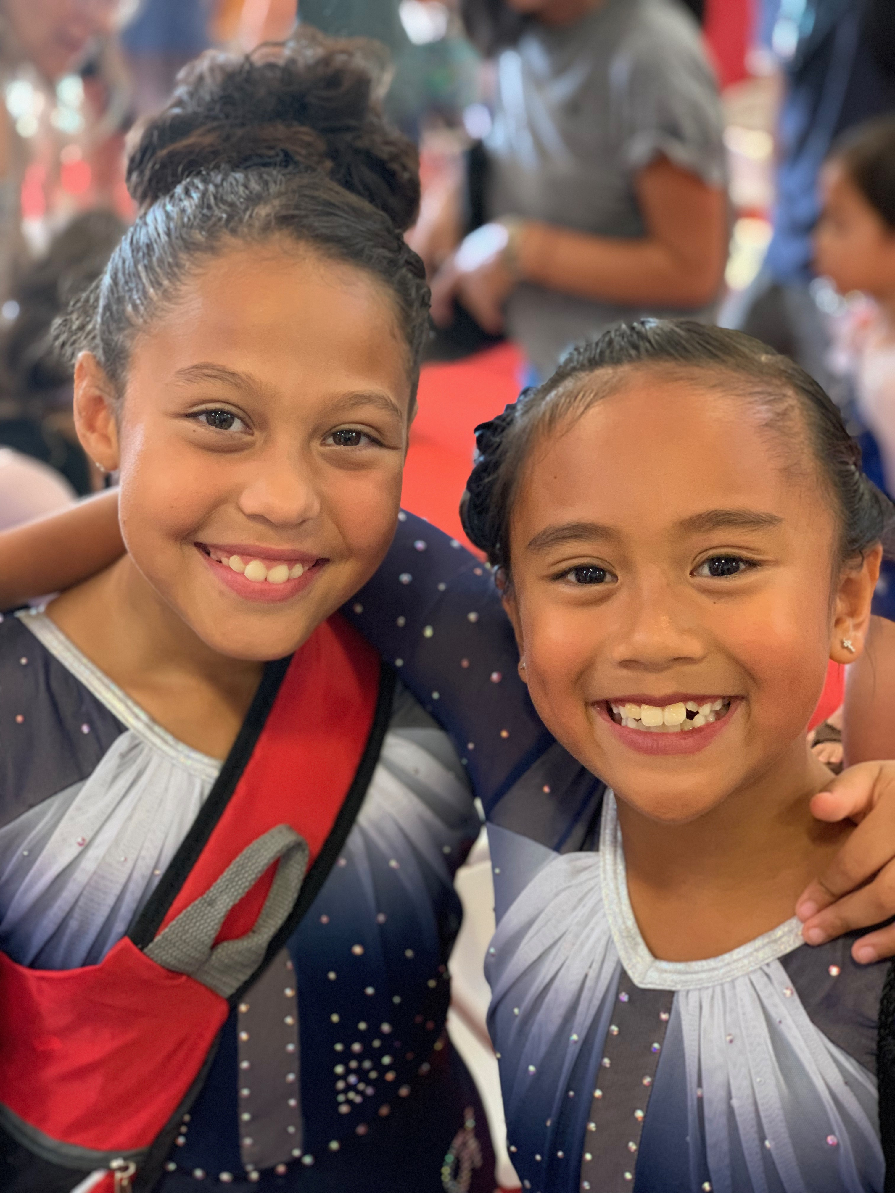 Gymnast Teammates