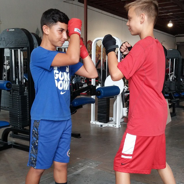Teen Boxing