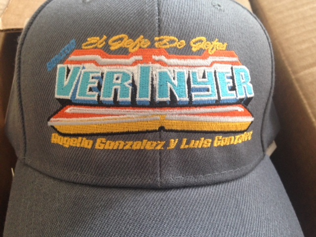 Verinyer Cap Embroidery