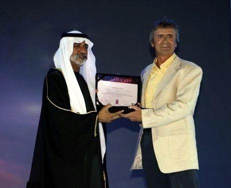 With Sheikh Nahayan Mabarak Al Nahayan,  Abu Dhabi  2005
