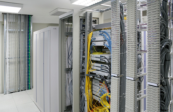Commercial server center