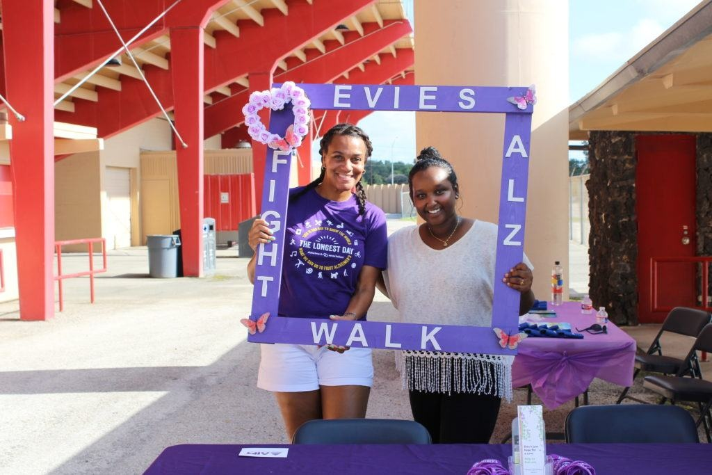 Evies Fight Alz Walk Members