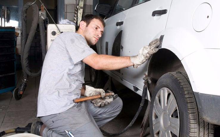I-CAR trained technicians