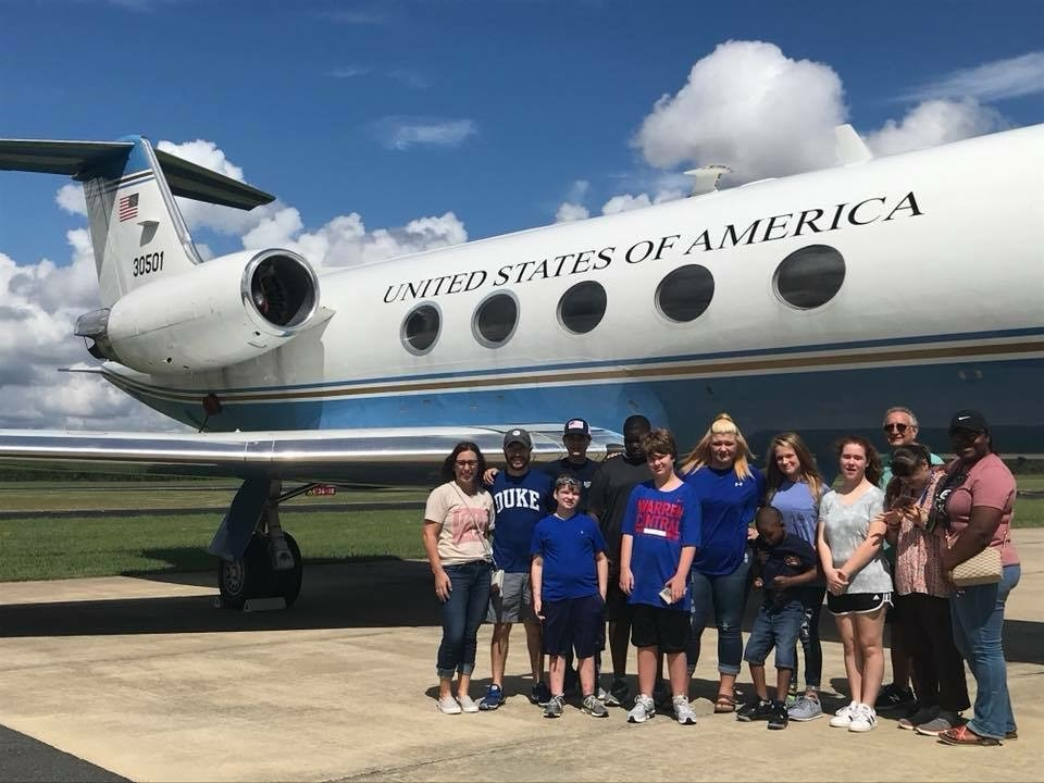 Visiting the old Air Force One