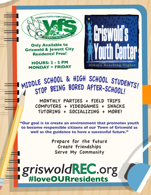 Griswold, CT - Park & Rec / Youth & Family Services / Town