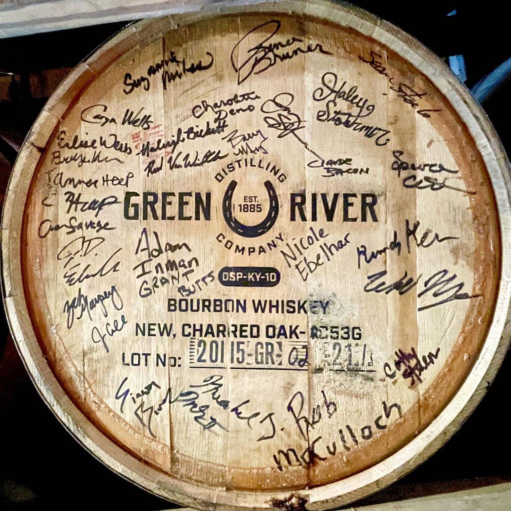 First Barrel - Green River Distilling Co